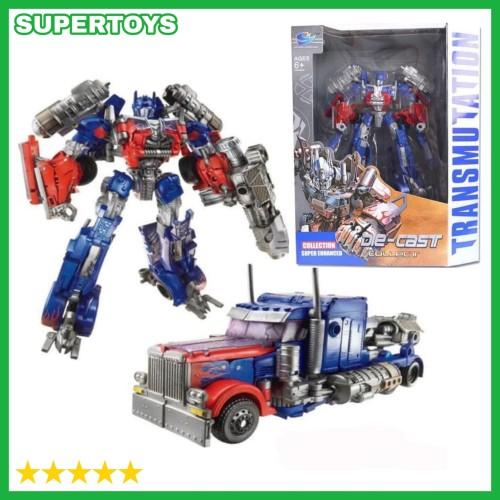 Foto Produk Mainan Robot Transformer Koleksi Diecast Transformer Optimus Prime dari THE SUPERTOYS