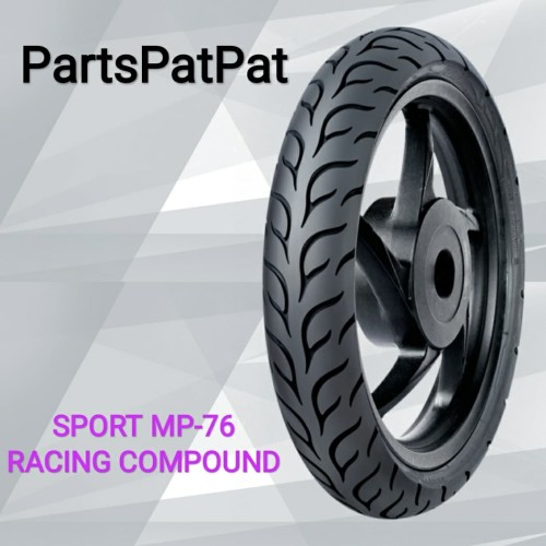 Foto Produk BAN FDR SPORT MP76 MP-76 908014 90/80-14 SOFT COMPOUND RACING TUBELESS dari PartsPatPat