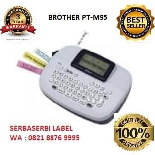 Foto Produk BROTHER Label Printer PTouch PT-M95 Portable Handy Label Maker dari serbaserbi Label