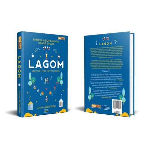 Foto Produk Buku Lagom Rahasia Hidup Bahagia Orang Swedia Lola A Akerstrom HC dari Renebook Turos