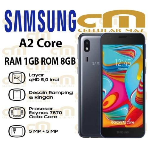 Foto Produk Samsung Galaxy A2 Core GARANSI RESMI SEIN - Abu-abu dari Cellular Mas