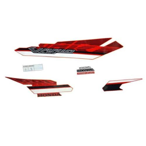 Foto Produk Stripe Set L Red White - Vario 125 eSP 871X0K60B50ZBL dari Honda Cengkareng