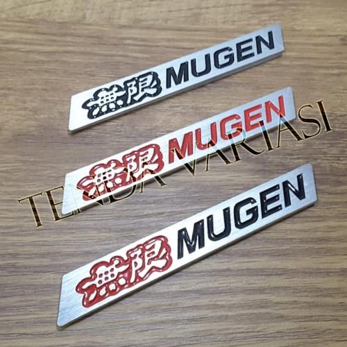 Foto Produk Emblem Mugen spoiler babet (kecil) - Hitam-Merah dari tenda online