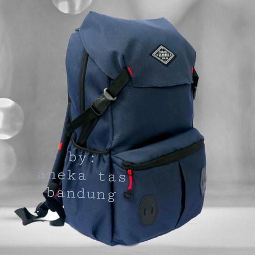 Foto Produk Tas Ransel Distro-Tas punggung-Backpack-Daypack - Hitam dari gudang tas 1000