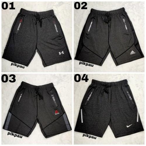 Foto Produk celana pendek pria kualitas premium import celana olahraga bermotif dari pikpau