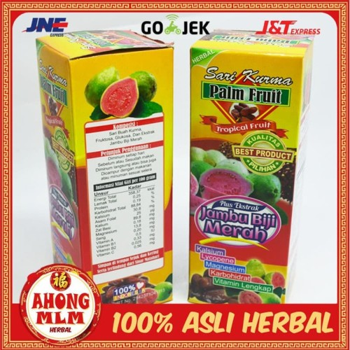 Foto Produk SARI KURMA PALM FRUIT JAMBU BIJI dari ahong mlm