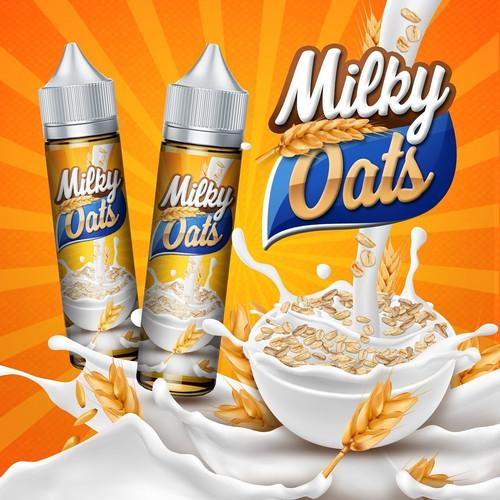Foto Produk Milky Oats 60ML 100% Authentic by Patriot27 - 6MG dari JakartaVapers