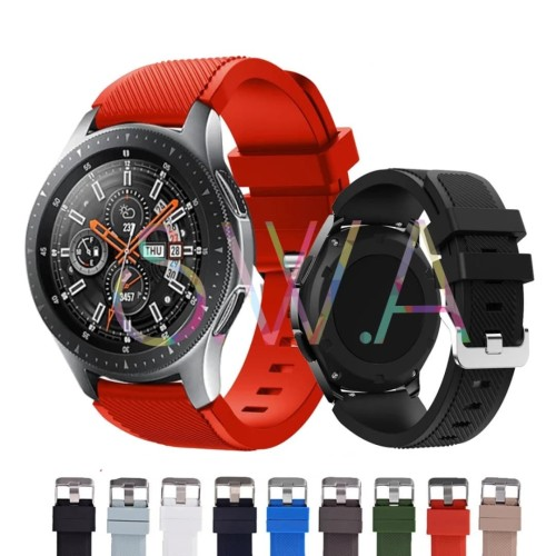 Foto Produk Samsung Galaxy Watch 46mm SM R800 Strap Band Silicone Watch Tali Jam dari SmartWatchAcc