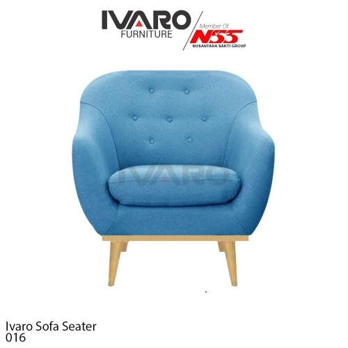 Foto Produk Ivaro Sofa Scandinavian 1 Seater dari Ivaro Furniture