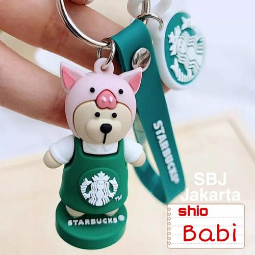 Foto Produk Gantungan kunci lucu STARBUCKS ORIGINAL / KEYCHAIN STARBUCKS ORIGINAL - Shio Babi dari SBJ-Jakarta