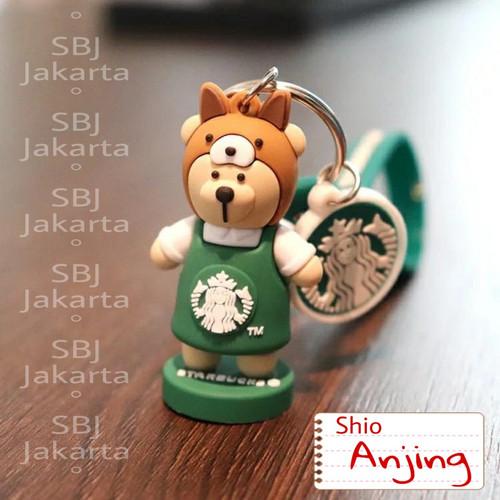 Foto Produk Gantungan kunci lucu STARBUCKS ORIGINAL / KEYCHAIN STARBUCKS ORIGINAL - Shio Anjing dari SBJ-Jakarta