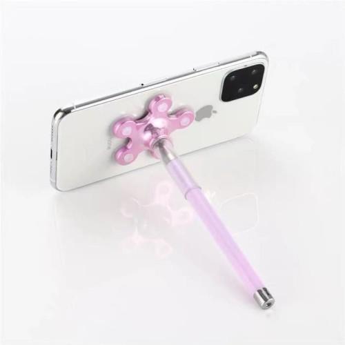 Foto Produk PULPEN HOLDER STAND 2 IN 1 holder gurita pen/ phone holder - Ungu dari 4acc