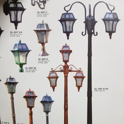 Jual Tiang Antik Lampu Taman Lampu Jalan Jakarta Pusat Puji Electric Tokopedia