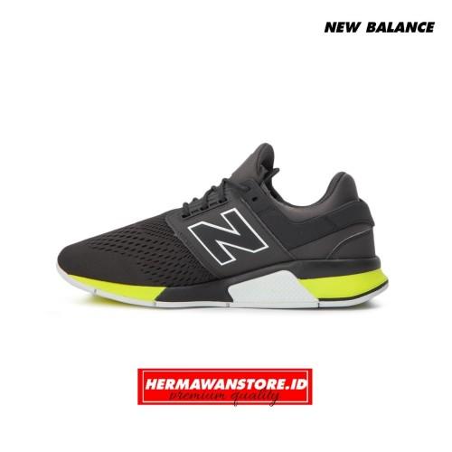 New Balance 247 Revlite Tritium Dark Grey Green Premium Quality
