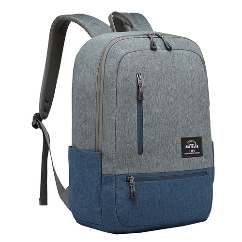 Foto Produk NavyClub Tas Ransel TasUnisex Waterproof HFGI Backpack Up To 15.6 Inch - Abu-abu dari Navy Club Official Store