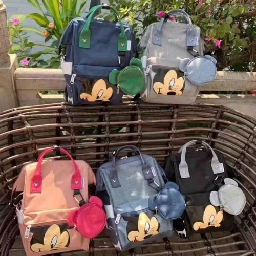 Foto Produk Tas Ransel Anello MICKEY Backpack Wanita Import Premium dari Noku Shop