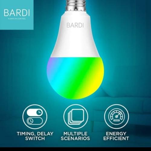 Foto Produk BARDI - Smart LIGHT BULB 12W RGBWW Wireless Bohlam dari Bardi Store Yogyakarta