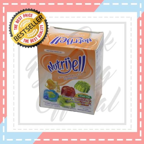 Foto Produk Nutrijell jelly Powder Rasa Jeruk 15g/sc dari Jak Blessing Official