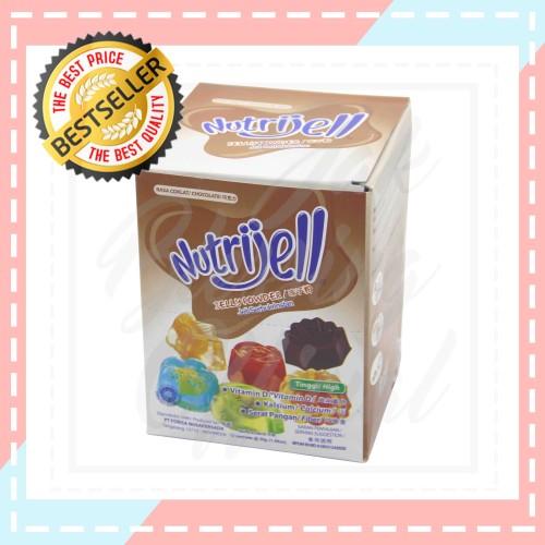 Foto Produk Nutrijell jelly Powder Rasa Coklat 30g dari Jak Blessing Official