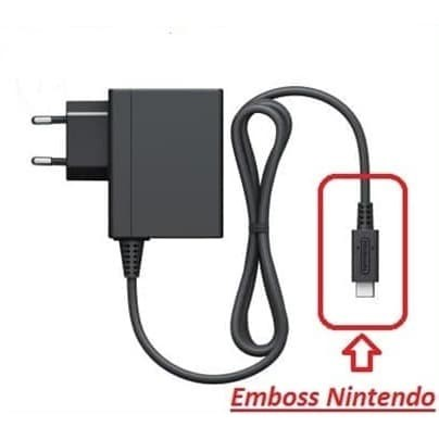 Foto Produk Adaptor Charger Switch AC Adapter Nintendo Switch dari Butikgames