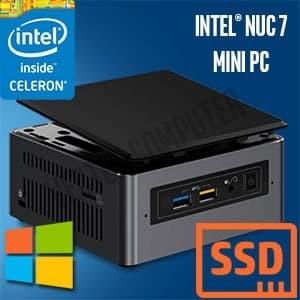 Foto Produk Intel NUC 7CJYH (120/8/W10) dari Vector Computer M2M