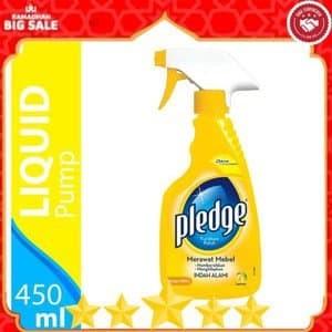 Foto Produk Pembersih Pledge Liquid Pompa 450 ml Lemon Mebel Furniture Polish dari WINSTON-OK OFFICIAL STORE