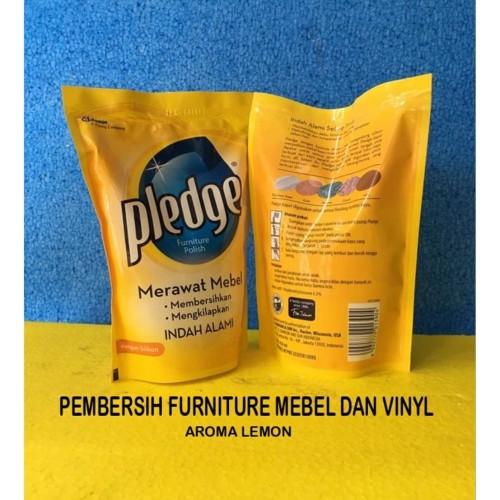 Foto Produk Pledge Liquid Refill 450 ml Lemon Pembersih Mebel Furniture Kayu dll dari WINSTON-OK OFFICIAL STORE