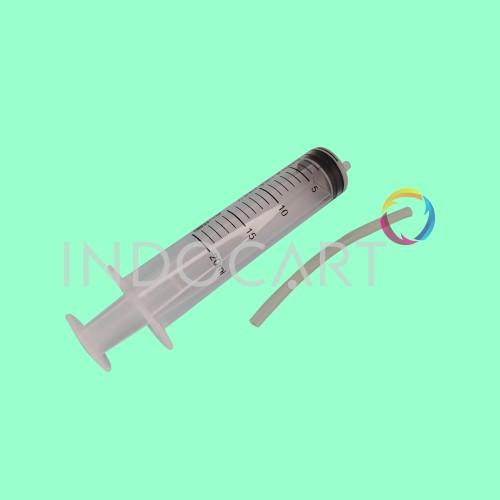 Foto Produk Syringe Spuid Spuit-Jarum Suntik-Suntikan Tinta-20cc Plus Selang dari INDOCART