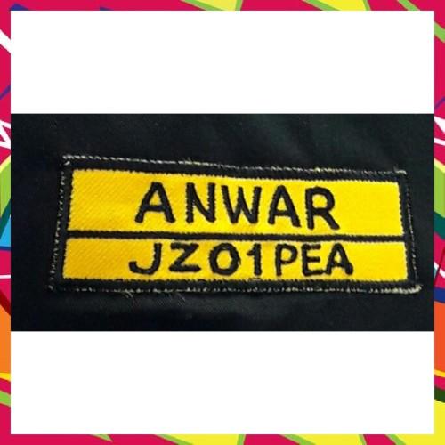 Foto Produk Badge Nama Kuning dari Ssofan3