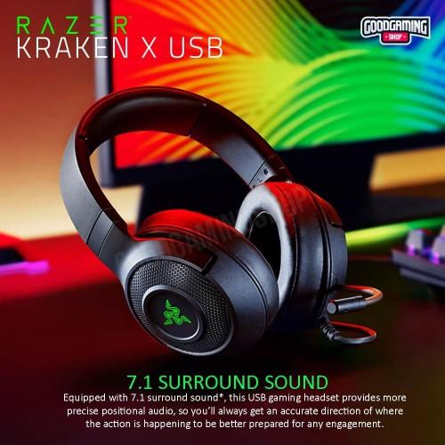 Foto Produk RAZER KRAKEN X USB GAMING HEADSET dari GOODGAMINGM2M