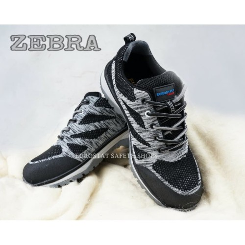 Foto Produk Sepatu Safety Shoes ESD Autistatic ZEBRA - Abu-abu, 37 dari Eurostat Safety Shoes