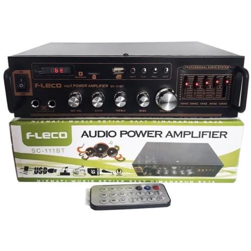Foto Produk Power amplifier Bluetooth Fleco ORI SC 111BT dari CV SINAR BARU