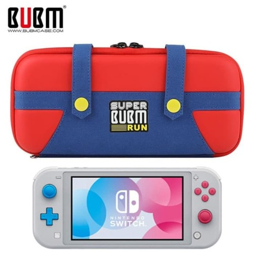 Foto Produk BUBM Nintendo Switch Lite Super BUBM Run Storage Bag Pouch Case Travel dari Rocket games