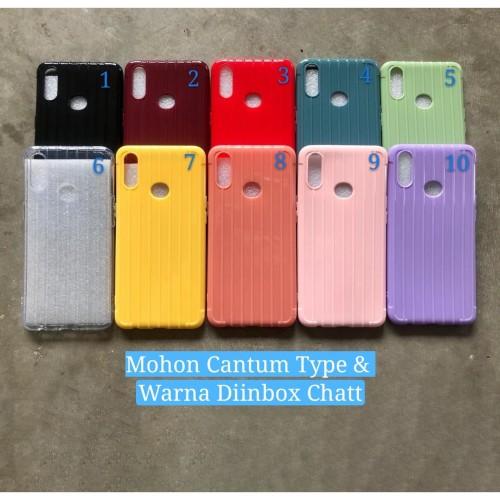 Foto Produk case warna silicon vivo y91c y93 y95 y12 y17 y15 y81 y83 v9 v15 v15pro dari rejeki bersama acc