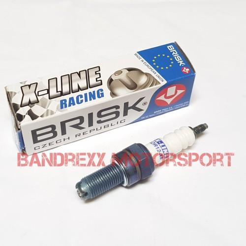 Foto Produk Busi BRISK X-Line For Nmax-Aerox 155-Lexi-R15-R25-Vixion-MT 15-MT 25. dari Bandrexx Motorsport
