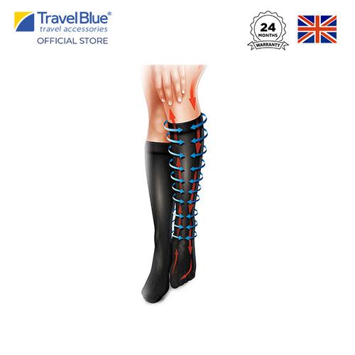 Foto Produk Travel Blue Flight Socks Kaos Kaki Compression TB790 TB791 - 40.5-44 dari Travel Blue Indonesia