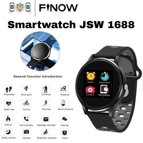 Foto Produk SMARTWATCH FINOW JSW 1688 - Smart Watch - List Gold dari b2b mobile