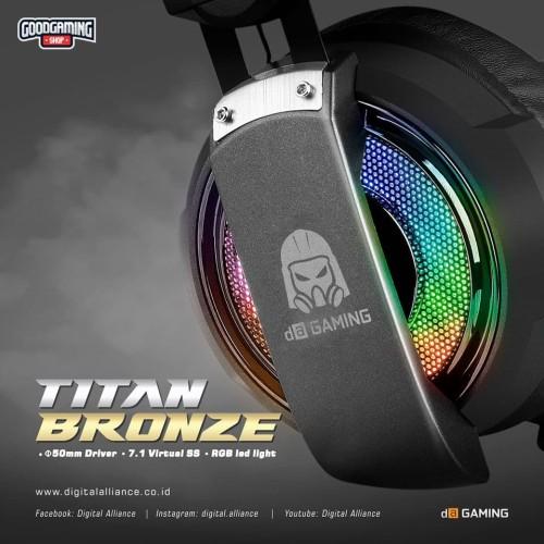 Foto Produk Digital Alliance Titan Bronze - Gaming Headset dari GOODGAMINGM2M