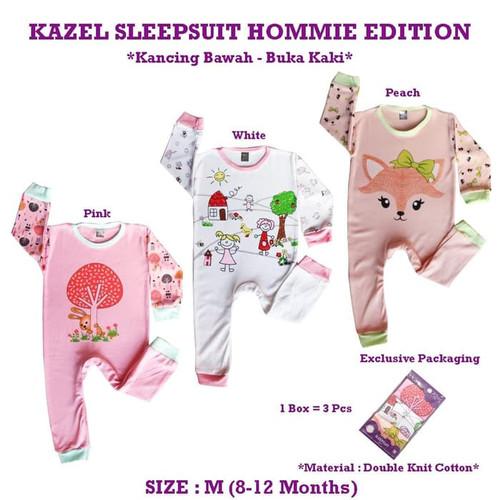 Foto Produk Kazel - Sleepsuit HOMMIE Edition - NEWBORN dari Chubby Baby Shop