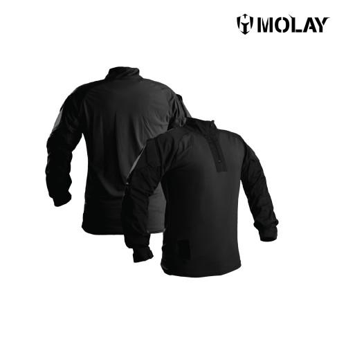 Foto Produk MOLAY SILENT WARRIOR COMBAT SHIRT - BLACK - S dari Molay