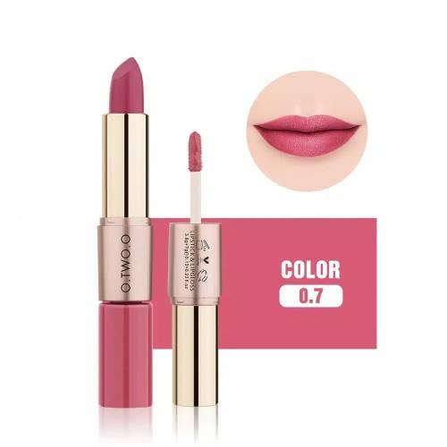 Foto Produk TWO.O Lipstick 2 In 1 Matte Lipstick 99% dari Titenie Toko