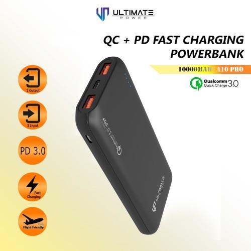 Foto Produk PROMO Ultimate Power QC+PD Fast Charging Powerbank 10000mAh A10 PRO dari Ultimate Power Official