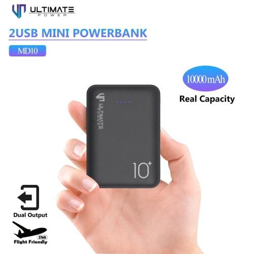 Foto Produk PROMO Ultimate Power 2USB Mini Powerbank 10000mAh MD10 dari Ultimate Power Official