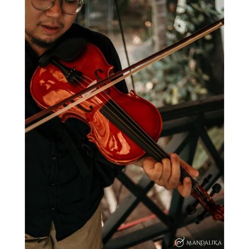 Foto Produk Biola MAKOA Include hardcase bow rosin HIGH QUALITY dari djenggotmusic