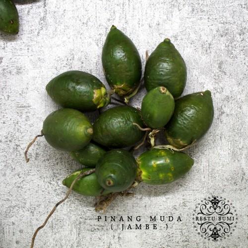 Foto Produk Buah Pinang Muda (Jambe) - Areca Catechu 250 gram dari RESTU BUMI PERTIWI