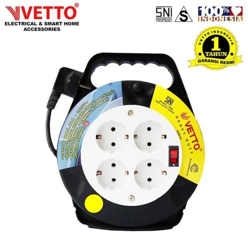 Foto Produk VETTO Box kabel 10 meter Full Switch SNI - V2815 10Sw dari Vetto Indonesia