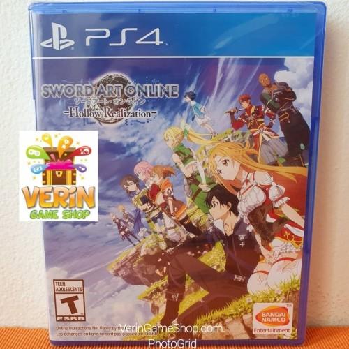 Foto Produk PS4 Sword Art Online: Hollow Realization / PS4 SAO HR Game dari Verin Game