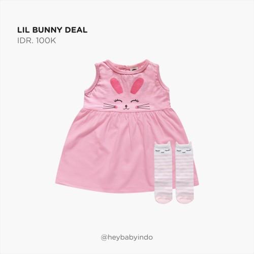 Foto Produk Hey Baby Lil Bunny Deal - 6-9m dari Hey! Baby