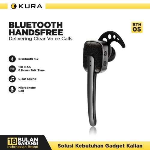Foto Produk KURA Bluetooth Handsfree BTH 05 dari KURA Elektronik