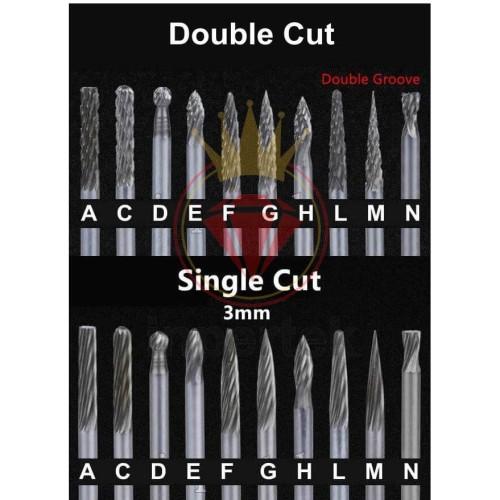 Foto Produk Cuner 3 New Tuner Keras | Tunner | Mata Gerinda Cuner | Mata Bor Tuner - F 2ARAH dari Teknikloak